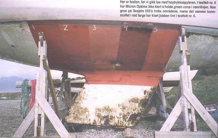 Bunnstoff båt test