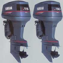 Yamaha 115 hk